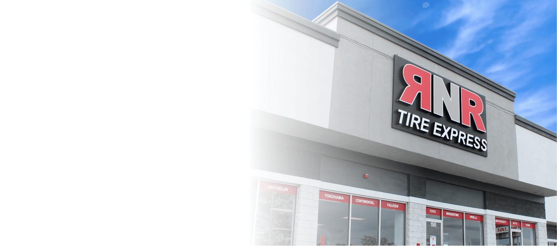 RNR Franchise storefront