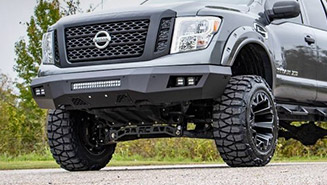 Custom Rear and Front Bumpers
